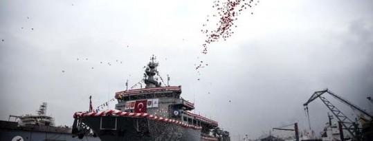TCG Alemdar Türk donanmasına teslim edildi.